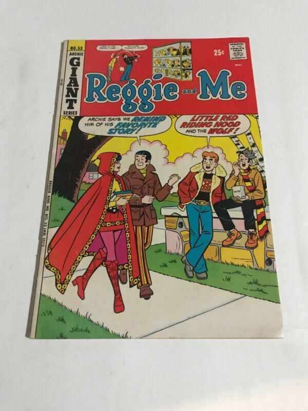 Reggie and Me Archie Giant Series 1972 No 53