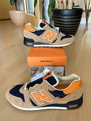 NEW BALANCE x LEVIS M 1300 LV UK 9 US9.5 Made In USA 996 997 998 992 Suede Denim