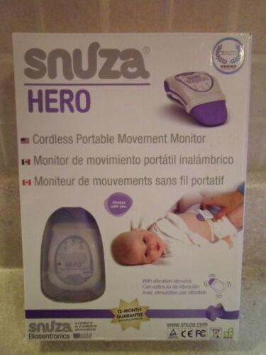 Snuza Hero Portable Baby Movement Monitor with Box & Instructions