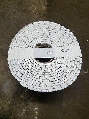 White Conveyer Belt 11 14 By 290