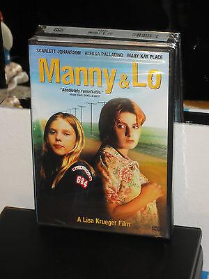 Manny & Lo (DVD) Lisa Krueger, Scarlett Johansson, Aleksa Palladino, BRAND NEW!