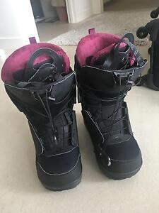 Women's snowboard boots 24.5cm salamon Woolloomooloo Inner Sydney Preview