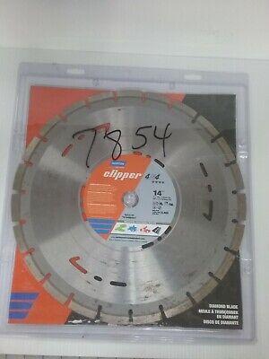 Norton Clipper 4x4 Diamond Blade 14 X 0.125 Thick 70184684547