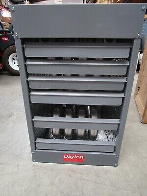 Dayton 100000 Btuhr Gas Unit Heater Model 32v246 - New With Dents