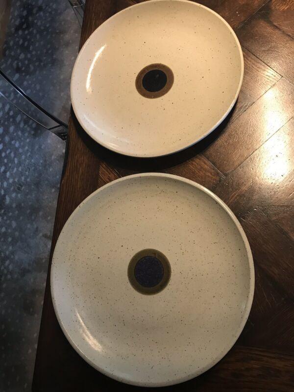 ZAALBERG Holland Art Pottery PLATES modern ceramic MCM