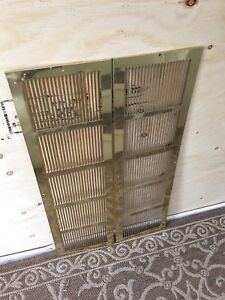 Return air vent grates
