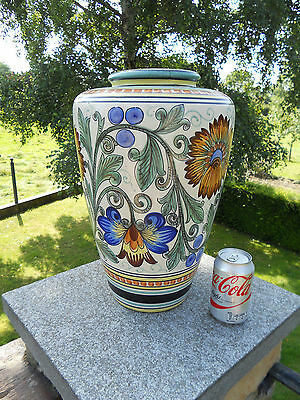 GRAND VASE WILHELM HERKENROTH ALLEMAGNE 40*83CM IMPECCABLE