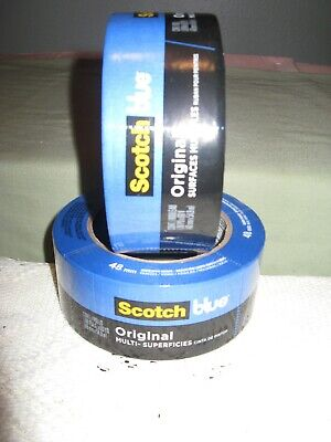 3m Scotch Blue Painters Tape 2 X 60 Yd Multi-surface 2090 Sold In Lots Of 2