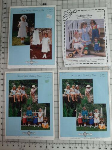 4 Great Uncut Smocking Heirloom Patterns Chery Williams + Debbie Glenn