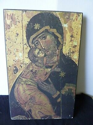 Icon of Madonna & Child