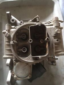 Ford 2.3 holley 4 barrel with intake