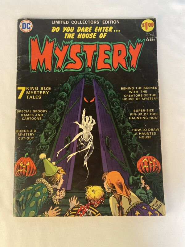 Limited Collectors Edition #C-23 DC 1973 House of Mystery Good Condition