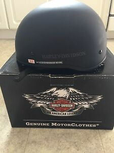 Harley Davidson low profile helmet brand new XS