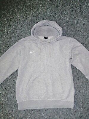 NIKE grey hoodie SIZE UK M