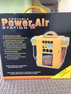 Portable jump start ,power and air compressor  Burleigh Waters Gold Coast South Preview