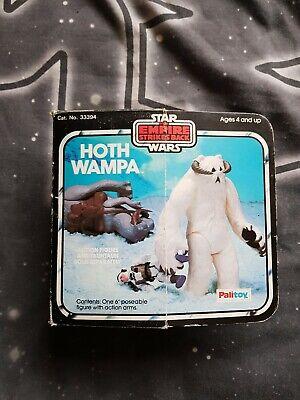 Star wars vintage hoth wampa boxed palitoy