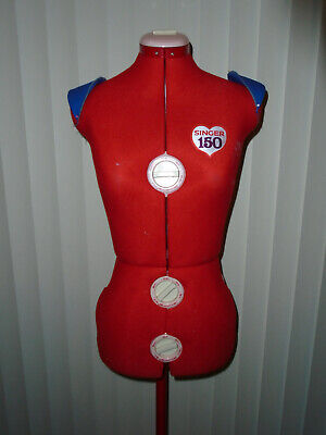 Singer Model 150 Adjustable Dressform Mannequin With Original Box