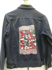 Upcycled Mickey Mouse Jacket
