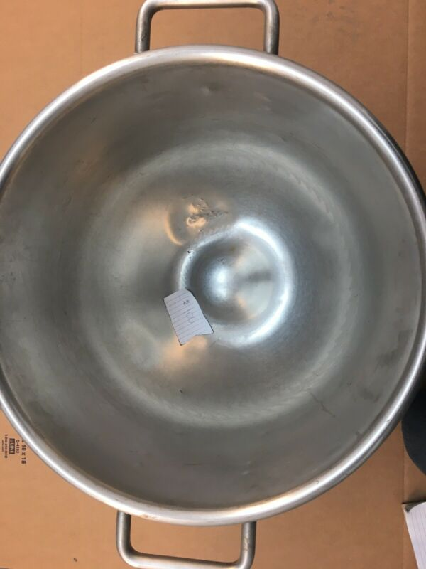 Original Hobart Stainless Steel 30 Quart Bowl for Hobart mixer VMLH