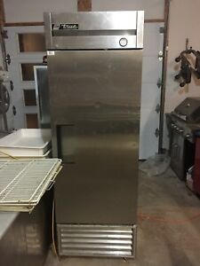 True Single Door Stainless Steel Commercial fridge