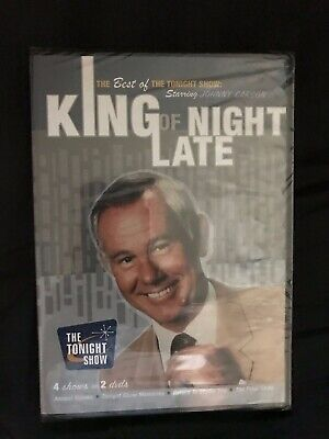 King of Late Night- The Best of The Tonight Show (DVD) (Best Late Night Show)