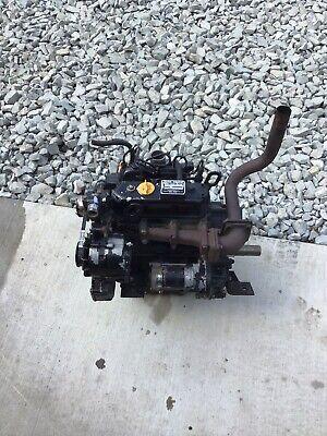 John Deere 430 Running Engine Yanmar 3tna72uj Diesel Engine 455 755 F935