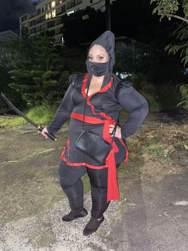 Plus Size Women's Ninja Costume
