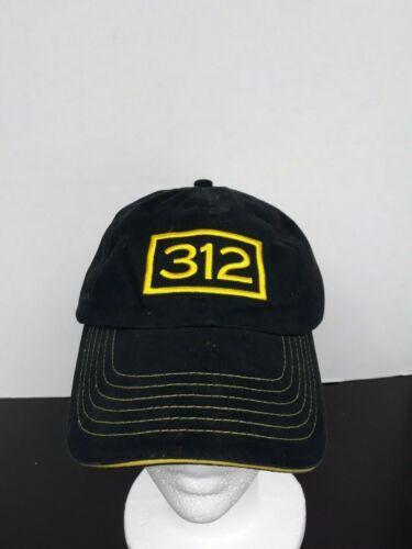 Black 312 Beer Baseball Hat