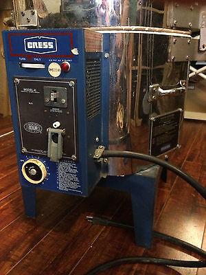 CRESS Kiln Model FX911 P (new power cord and kiln sitter)