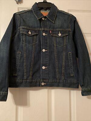 Levi's Kids Youth Button Down Jean Jacket Size Medium(10-12)