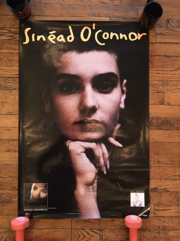 Rare Sinead O'Connor -I Do Not Want What I Haven't Got VINTAGE 1990 Promo Poster