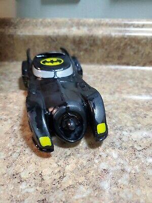 Vintage 1991 Tsumura DC COMICS Batman Returns Batmobile Plastic Squeeze Toy Car
