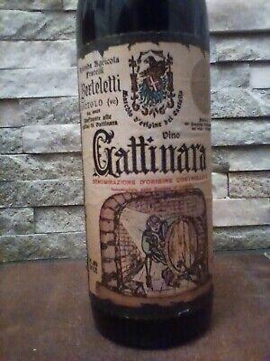 Gattinara Piemonte Rotwein 1964 Fratelli Berteletti aus Weinsammlung