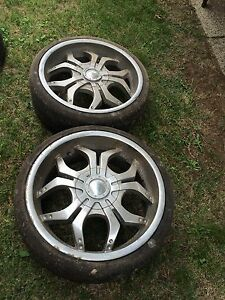"2x 20"" rims Heathcote Sutherland Area Preview"