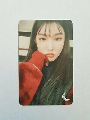 """K-POP CHUNGHA Limited Photocard - Official Fan Meeting """"ByulHaRang ChungHaRang"""""""
