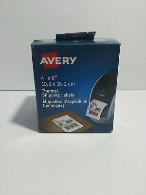 1x Avery Thermal Printer Shipping Labels 4 X 6 White 220roll 4156 Dymo Zebra