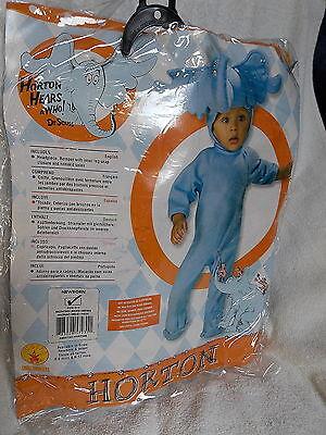 Newborn Dr Seuss Horton the Elephant Costume Size 0-9 Months  NEW](Newborn Elephant Costume)