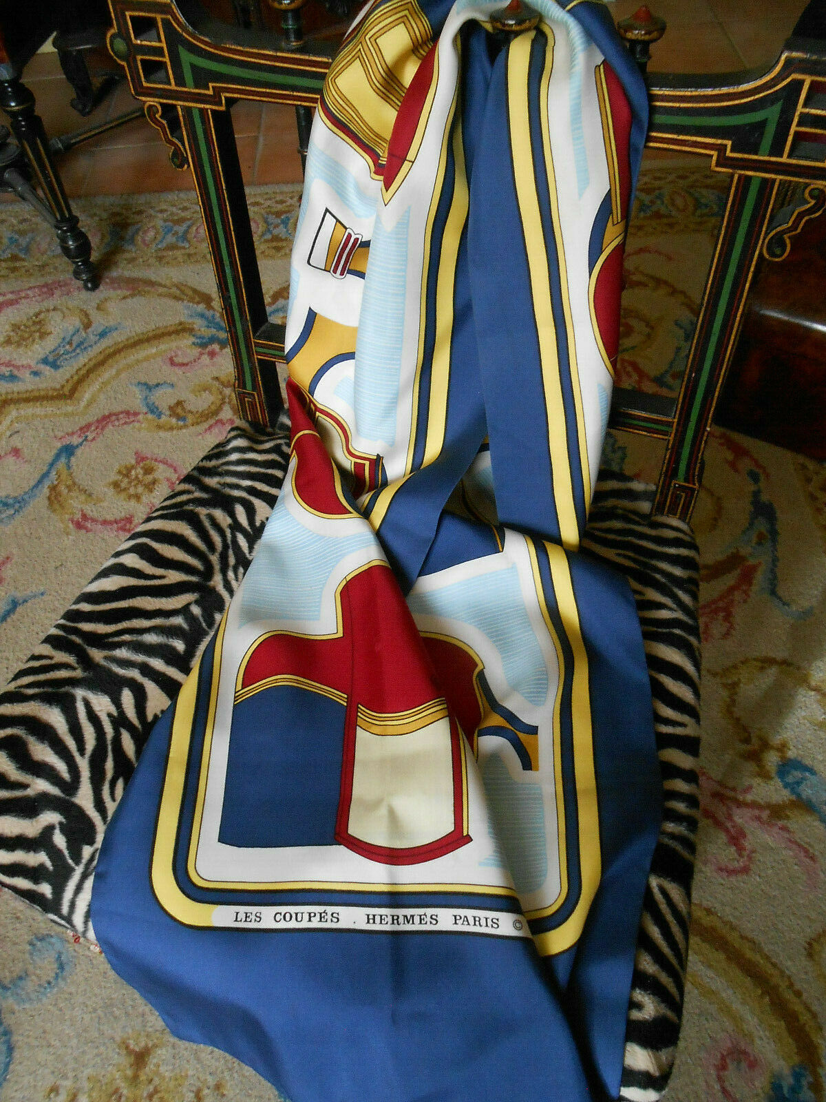 foulard écharpe hermès