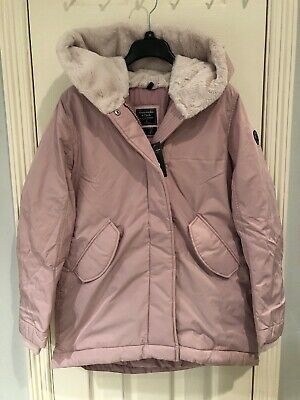 NWT Abercrombie And Fitch Women Lilac The A&F Cozy Parka $200 M Medium