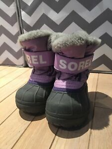 Sorel Toddler girl winter boots - size 6 toddler