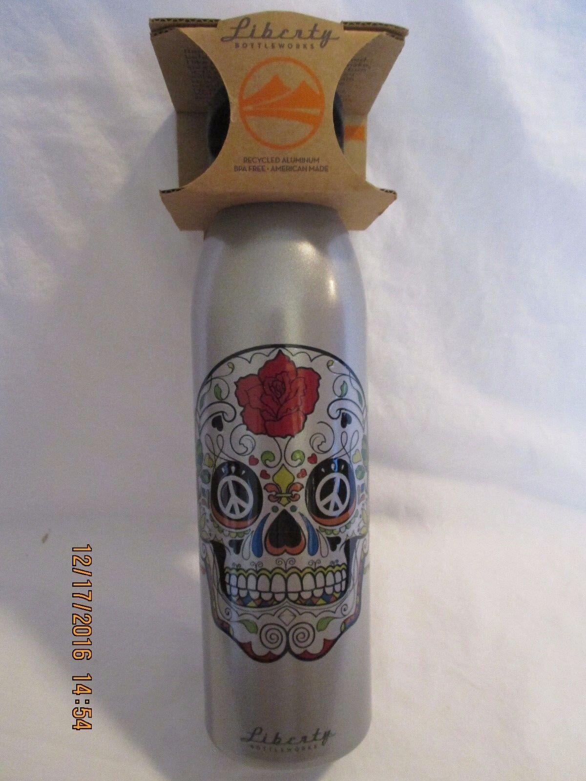 "Liberty Bottleworks Recycled Alumunum 24 oz. Bottle ""Carlos"""