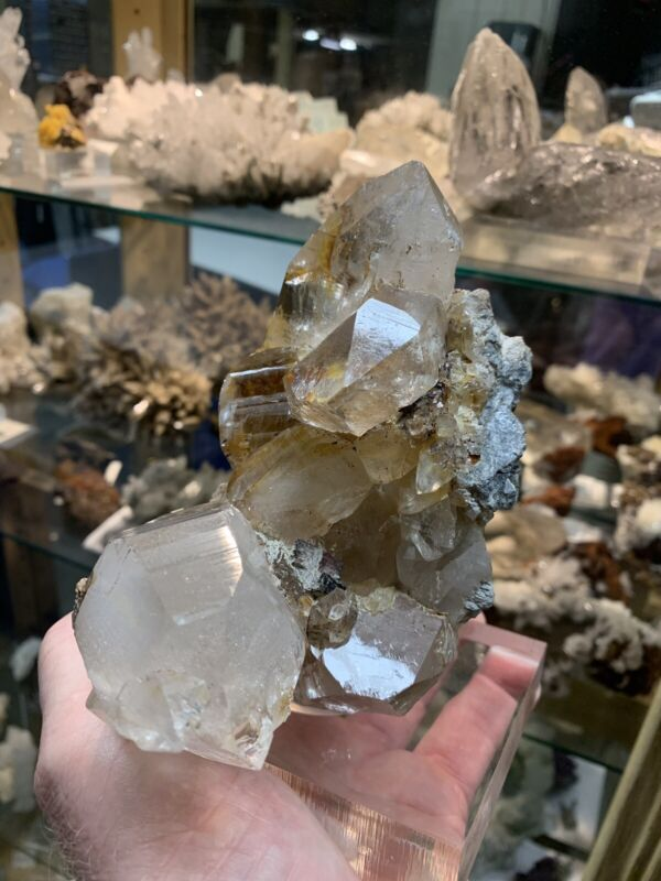 Very Large And Beautiful Group Of Himalayan Quartz