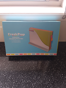 4 pk coloured chopping boards Bass Hill Bankstown Area Preview