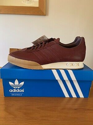 Adidas Originals Kegler Super Tournament Edition Trainers UK 10 Redwood Leather