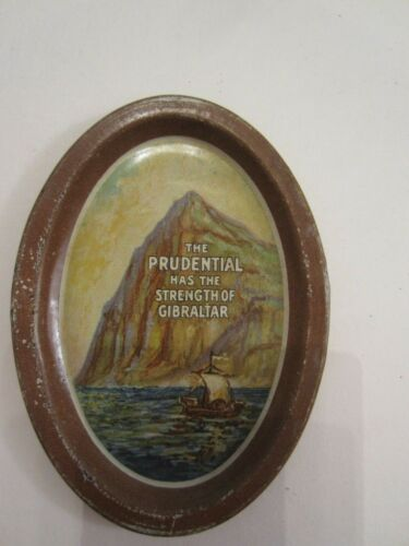 Vintage PRUDENTIAL The Strength of Gibraltar Tip Tray