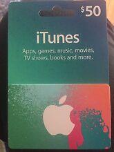 iTunes voucher Wangi Wangi Lake Macquarie Area Preview