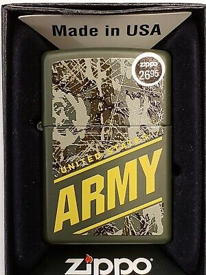United States Army Zippo Lighter, NEW (281823)