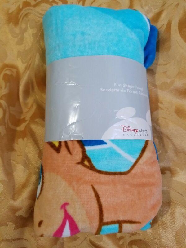 Disney Store exclusive Tinkerbell Fun Shape Towel Tink Bath Beach towel