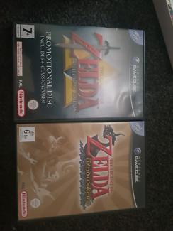 2 zelda games gamecube like new cheap blackfriday deal