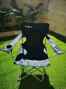 Pair of camping chairs / deck chairs